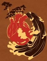 heart of darkness by meltedwaxwing