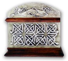 CELTIC CHEST 1 - SIDE. by arteymetal
