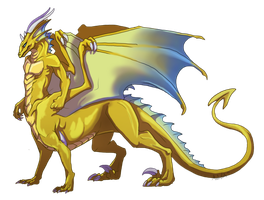 Commission - Taur Dragoniade by AbelPhee