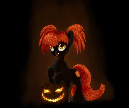 Halloween pony by Rameslack
