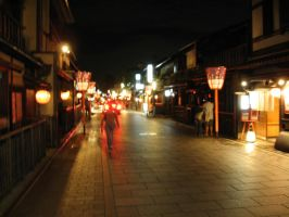 Gion by Night by phasai