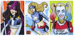 3 sketch card commissions by mdavidct
