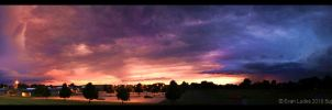 Beautiful Apocalypse Panorama by FramedByNature