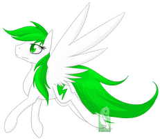 Emerald Thunder by AlphaAquilae