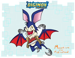Digimon Meme - Maverick the Pipismon by Diggersby-Tho