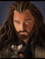 Thorin Portrait by HannahWhoDraws