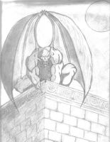 gargoyle by lemougha