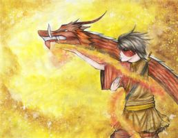Dragon Dance: ZUKO by czaren