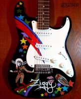 Glam Rock Guitar by Chi-Chi-LaMare