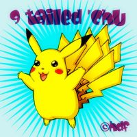 9 Tailed 'Chu by HampsterDanceFanatic