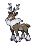 586 - Sawsbuck (Winter) by Devi-Tiger