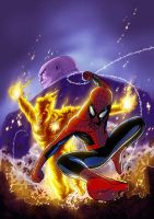 SPEC SPIDEY UK 184 COVER by deemonproductions