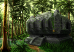 Minecraft Jungle Temple by Algoinde