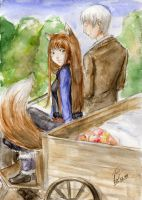 Spice and Wolf by A-hi-ru