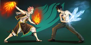 Fairy Tail- Daily Brawl by cinash
