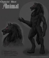 'Animal' Character Sheet by Kihara-Quagga