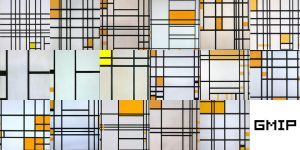 Yellow Day De Stijl Series by gmip