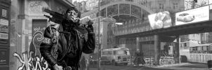 Shadowrun Anarchist Berlin by raben-aas
