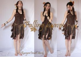 Falling Leaves Pack7 by RaeyenIrael-Stock