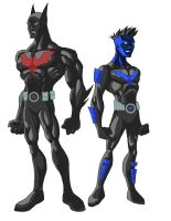 Batman and Nightwing Beyond 2 by phil-cho