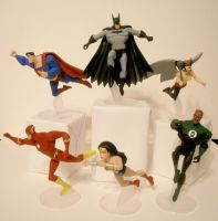 Justice League Takes Flight by GeekVarietyDotCom