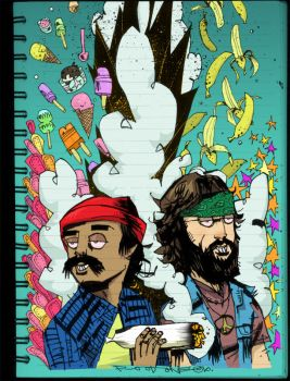 Cheech and Chong by JimMahfood-FoodOne