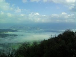 Misty Valley by dhc72