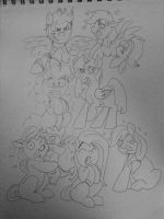 My Little Pony: GHOST ADVENTURES by WolffNoelle