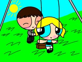 Request: Supersmith and Bubbles by catycatkin