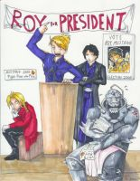 Roy for President by animatey