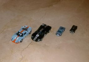 Ford GT40 x4 by angelneo107