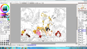 WIP Fairytales by PandaberryX3
