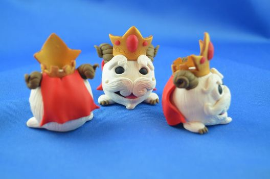 Poro from league of Legends by claymeeples