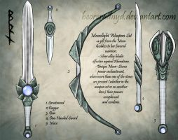 Moonlight Weapons set by BeorcRadNyd