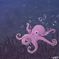 Octopoo by Potatoskin