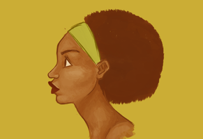 Afro's are fun by wondernez