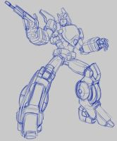 Prowl  Animated G1 sketch by bokuman