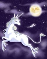 The Last Unicorn by hitandrun