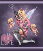 miss cupid by Harpyqueen