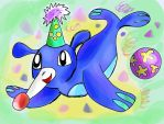 My next Starter Popplio by Zapdosblitz