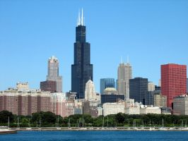 chicago sears tower by Morgadu