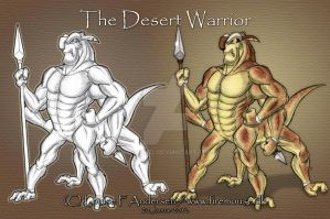 The Desert Warrior by lu-raziel