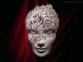 Dreamer Mask: Breakthrough (3D Printed) by Lumecluster