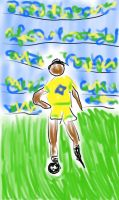Brazillian soccerplayer by mekkasop