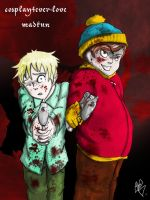 South Park Cartman and Butters by madkun