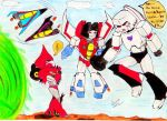 Crossover Knockout meet TF G1 by GIASAMA
