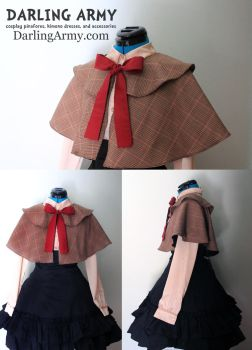Matt Smith Eleventh Doctor Who Cosplay Capelet by DarlingArmy