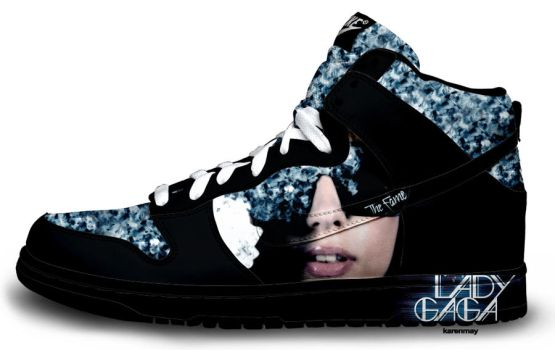 Custom Nike Dunks: Gagas by kaycunana