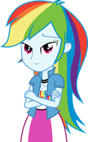 Equestria Girls Rainbow Dash by nero-narmeril