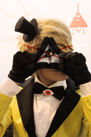 Bill Cipher Cosplay by MystralCasterial